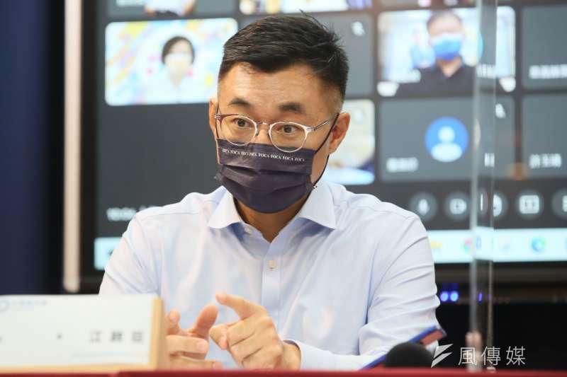 江啟臣成為北京最不關注的國民黨主席。(資料照,柯承惠攝)