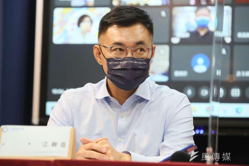 江啟臣日前宣布爭取出席「台美國防工業會議」。 (資料照,柯承惠攝)