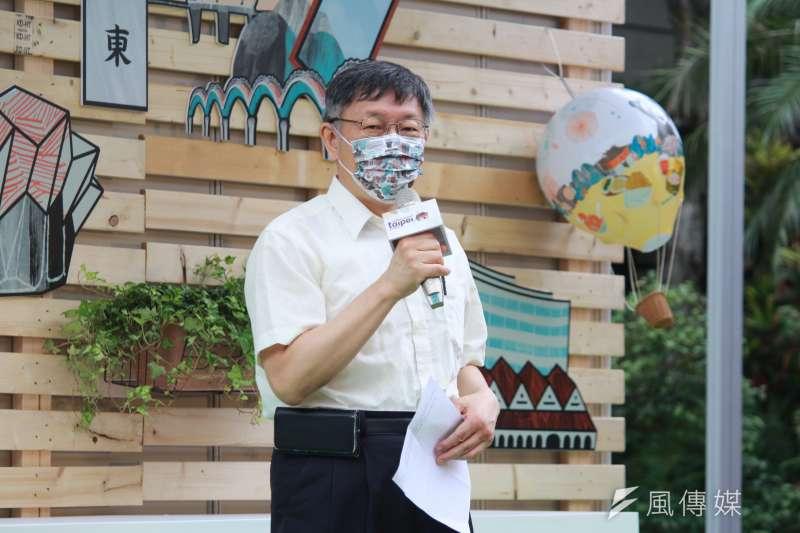對於總統府派出戰機迎接東奧歸國選手引發爭議,台北市長柯文哲表示,當成是軍方訓練項目就好了。(資料照,方炳超攝)