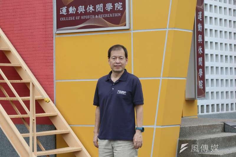 20210804-專訪國訓中心運動科學小組總召集人相子元。(柯承惠攝)