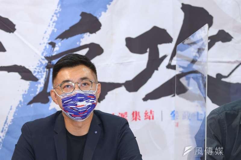 國民黨主席江啟臣重申,沒有參選2024年總統的想法,只會專心當一個「造王者」(kingmaker)。(資料照,顏麟宇攝)