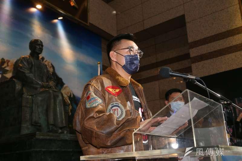 江啟臣訪問朱立倫的家鄉桃園市,拜訪當地的國民黨立法委員和國民黨籍的桃園市議長。(資料照,顏麟宇攝)