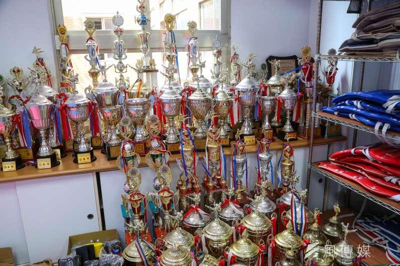20210813-體育改革專題,桃園平鎮高中體育班,跆拳道校隊。(顏麟宇攝)