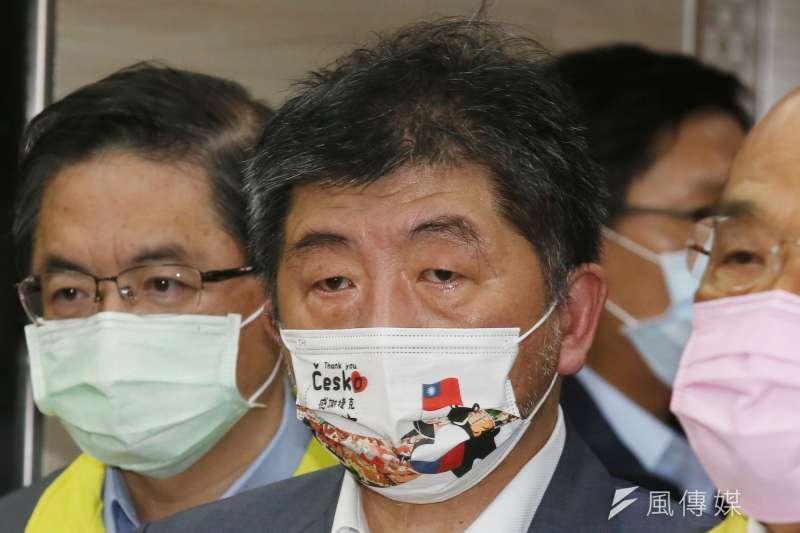 董事長游盈隆認為,陳時中確實是民進黨內一員猛將,但沒有派系背景的他仍有「搖擺人」的無奈。(資料照,柯承惠攝)