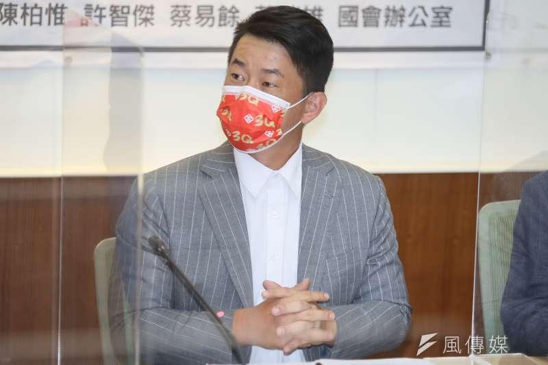 台灣基進立委陳柏惟(見圖)罷免案將於10月舉行。(資料照,柯承惠攝)