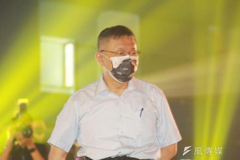 針對駐日代表謝長廷近日風波,台北市長柯文哲表示,與謝私交不錯,相信謝不是亂七八糟的人。(資料照,柯承惠攝)