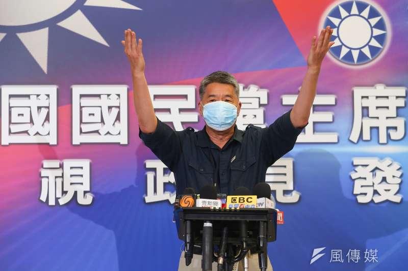 國民黨主席參選人張亞中日前主張國民黨應和中共簽和平備忘錄,陸委會今天作出回應。(資料照,顏麟宇攝)