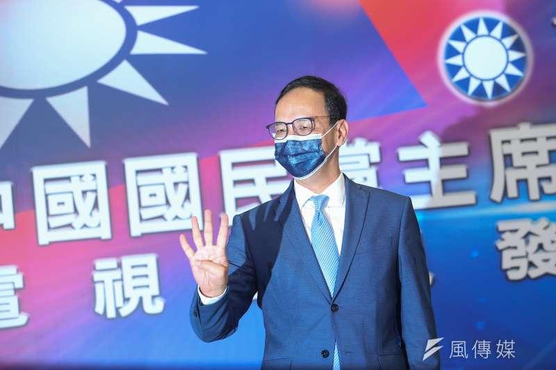 國民黨主席選舉候選人朱立倫。(資料照,顏麟宇攝)