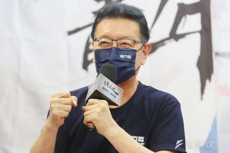 資深媒體人趙少康於臉書發文指出,北京不理民進黨,民進黨就對賀電吃味,真是小家子氣,一點格局都沒有。(資料照,柯承惠攝)