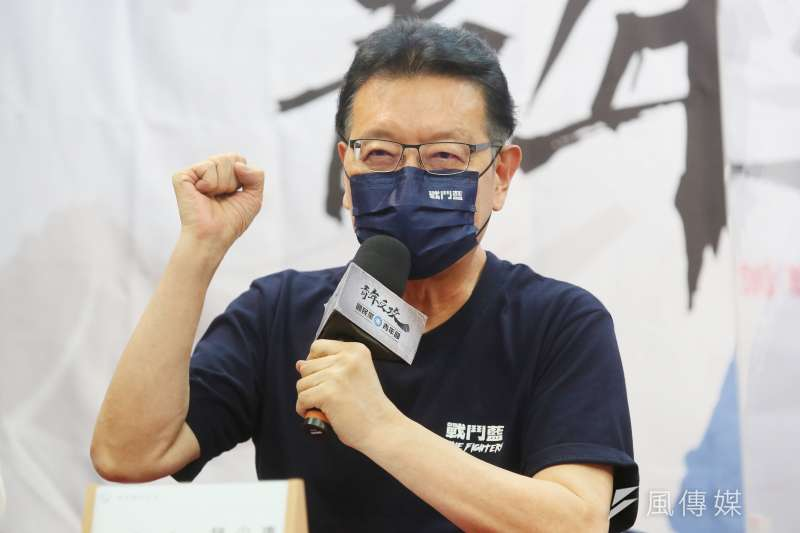 對於文化部擬修《公共電視法》,中廣董事長趙少康直言,簡直是要讓公廣集團成為「台灣的央視」。(資料照,柯承惠攝)
