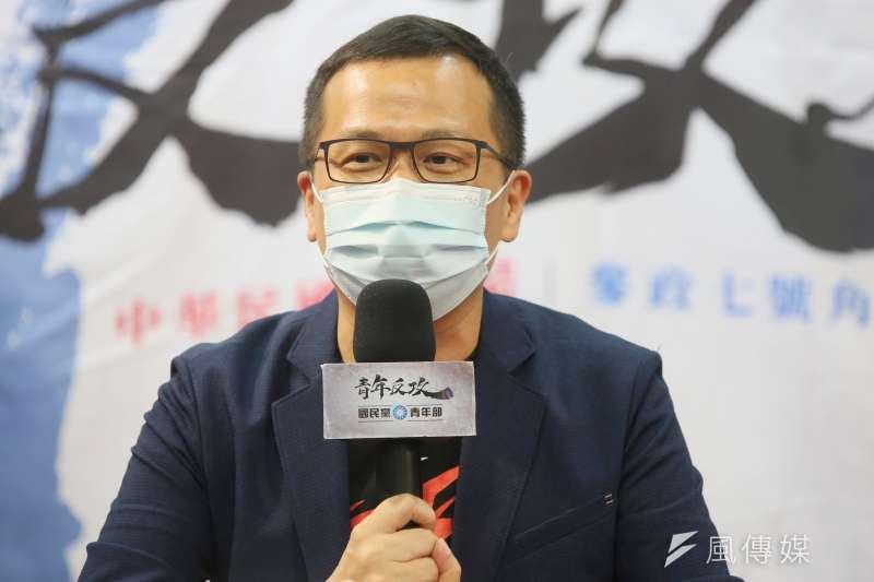 印尼電文案國民黨台北市議員羅智強(見圖)等人被判賠200萬。(資料照,柯承惠攝)
