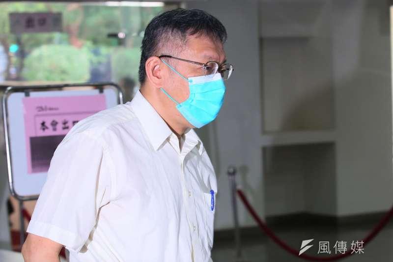 20210916-台北市長柯文哲16日至台北市議會施政報告及備詢。(柯承惠攝)