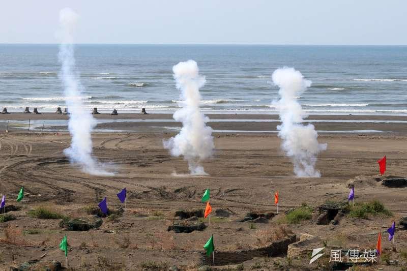 20210916-灘岸爆破。(蘇仲泓攝)