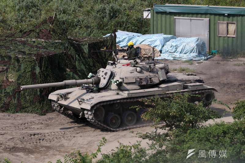 20210916-CM11戰車。(蘇仲泓攝)