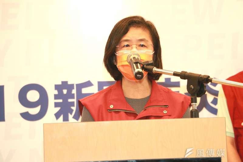 衛生局長陳潤秋表示,70多歲幼兒園負責人確診,相關接觸家人都做過PCR全為陰性,家人也都安排集中隔離。(圖/李梅瑛攝)