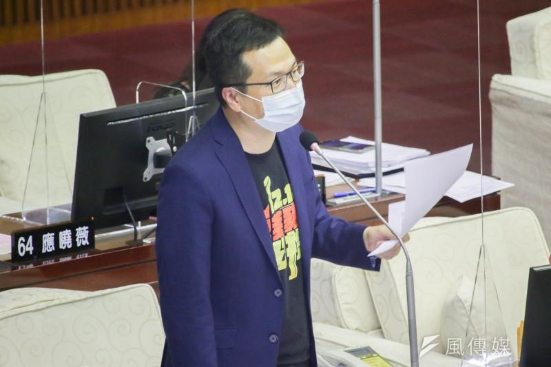 台北市議員羅智強(見圖)28日在臉書指出,BC One霹靂舞總決賽將在波蘭舉辦,而台灣霹靂舞好手張雅涵因打不到國際認證的疫苗,差點被迫棄賽。(資料照,蔡親傑攝)