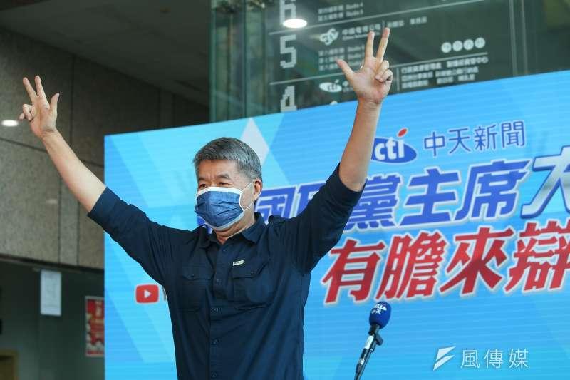 國民黨主席候選人張亞中近來聲勢高漲,引發黨內外關注。(資料照,顏麟宇攝)