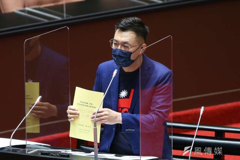 國民黨主席江啟臣23日接受廣播專訪時表示,黨內選舉要選到操作棄保,是操作者沒自信和太自私。(資料照,顏麟宇攝)