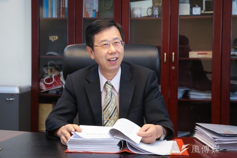 20211004-調查局長呂文忠專訪。(顏麟宇攝)