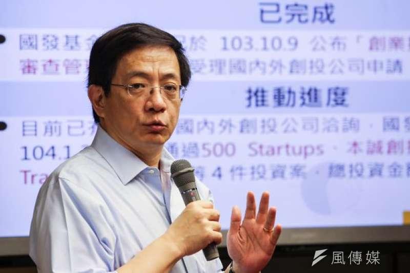 管中閔認為馬習會後,台灣加入區域組織的障礙在自己而不是大陸了。(資料照/林韶安攝)