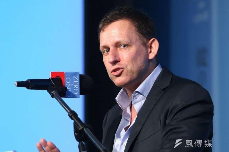 「PayPal在被併購後的表現,肯定連共同創辦人彼得・提爾當年都無法預測。」(資料照,吳逸驊攝)