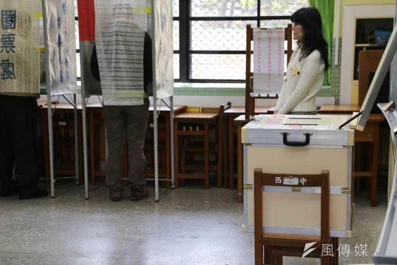 台灣有超過90萬名移工,但因無公民身份而沒有投票權,圖為台灣選舉投票所(資料照,楊子磊攝)