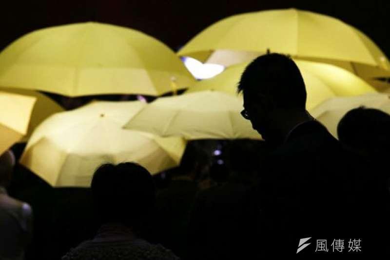 五年前的香港佔中運動九位發起人全部被判有罪。(圖為香港「佔中」示威資料照片)。