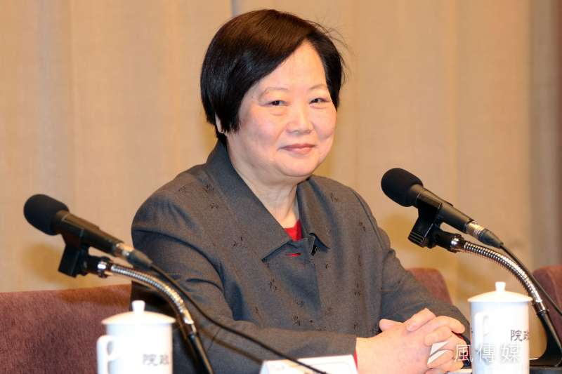 勞動部長林美珠首次接受專訪表示,自己接掌勞動部總統蔡英文事前不知情。(資料照,蘇仲泓攝)