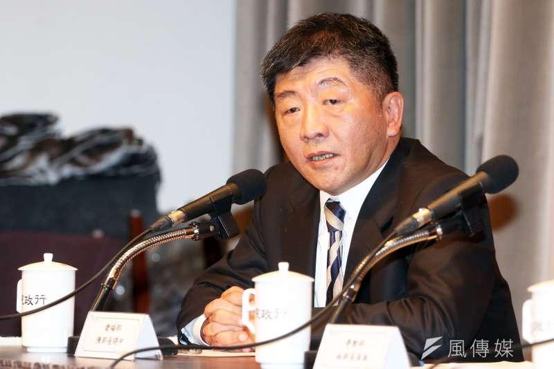 新任衛福部長陳時中能否出席今年的世界衛生大會,各界高度關注。(蘇仲泓攝)