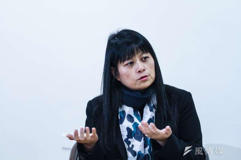 因不滿律師葉慶元以紙風車劇團的專業收入,攻擊368兒童藝術工程公益演出, 紙風車副執行長張敏宜(見圖)8日赴北檢控告葉涉嫌妨害名譽。(資料照,曾原信攝)