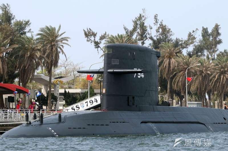 潛艦國造的廠房預計9日在高雄動土。圖為海虎潛艦。(資料照,蘇仲泓攝)