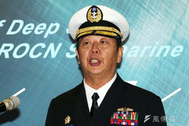 黃曙光於小英當選總統後接任海軍司令,肩負推動IDS重責。(蘇仲泓攝)