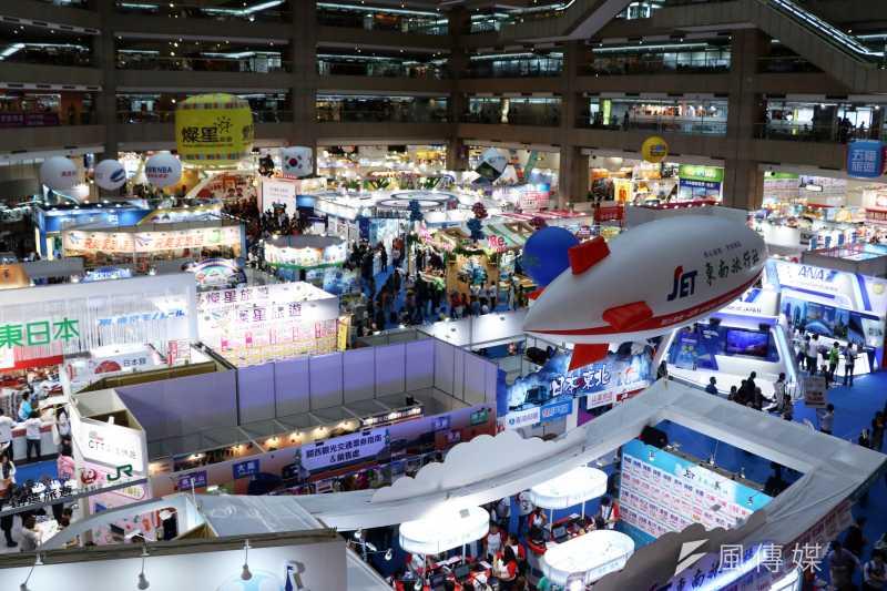 台北國際旅展即將於11月8日登場,兩大航空業者長榮航空、中華航空的線上旅展活動也即將開跑。(資料照,蘇仲泓攝)