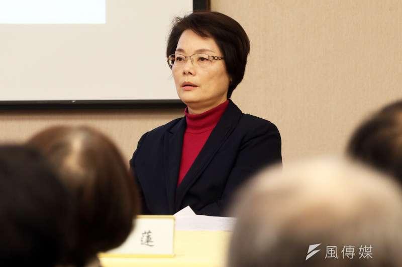 台大歷史系教授陳翠蓮表示,她已婉拒出任促轉會委員,原因則不方便說明。(資料照,蘇仲泓攝)