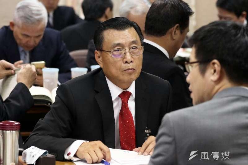 20161207-國安局長彭勝竹。(蘇仲泓攝)