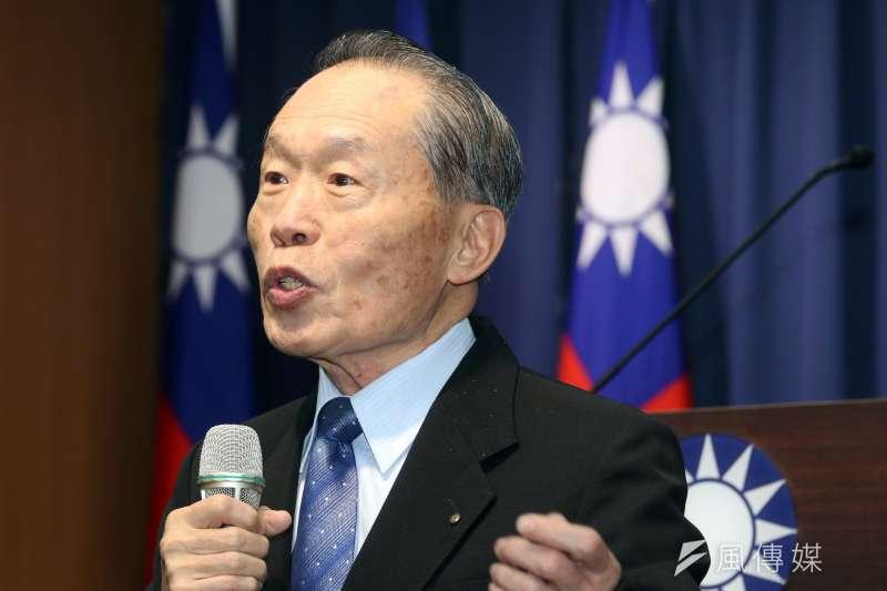 國民黨前副主席陳鎮湘(見圖)表示,大家要挺韓到底,更呼籲鴻海集團創辦人郭台銘「不要成為歷史的罪人」。(資料照,蘇仲泓攝)