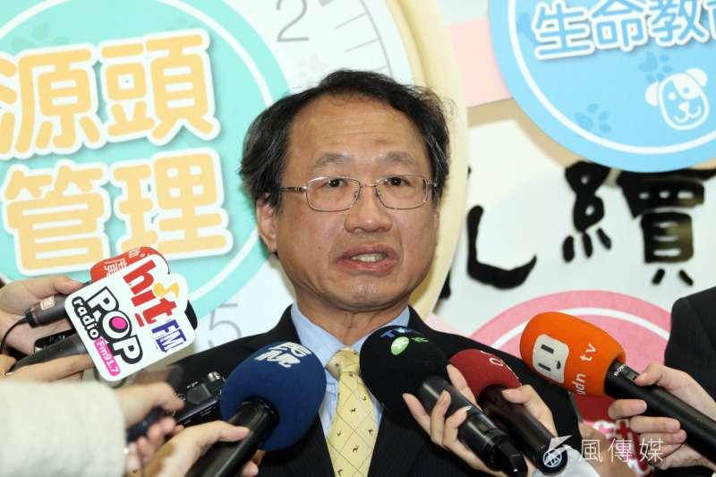 中國宣稱非洲豬瘟疫情趨緩,已解除封鎖21個省分的疫區。農委會副主委黃金城以越南通報案例數等推斷,研判中國疫情仍在高峰期。(資料照,蘇仲泓攝)