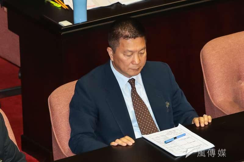 國防部總督察長韓更生至立院備詢。(顏麟宇攝)