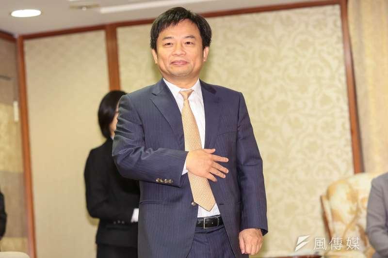 林錫耀與民進黨總統當選人蔡英文9日拜會親民黨主席宋楚瑜。(顏麟宇攝)