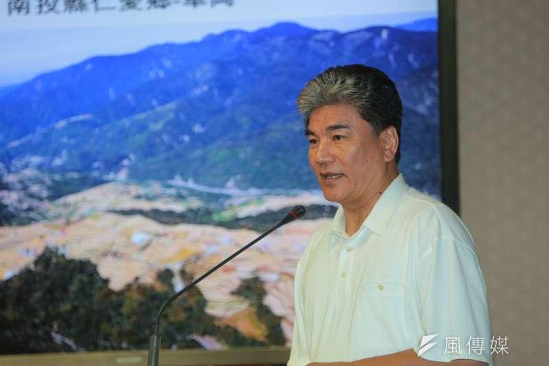 前內政部長李鴻源接受直播節目訪問時表示,同樣規模6.0地震,如果發生在土壤液化嚴重的台北,可能會倒4千棟房子。(資料照,顏麟宇攝)