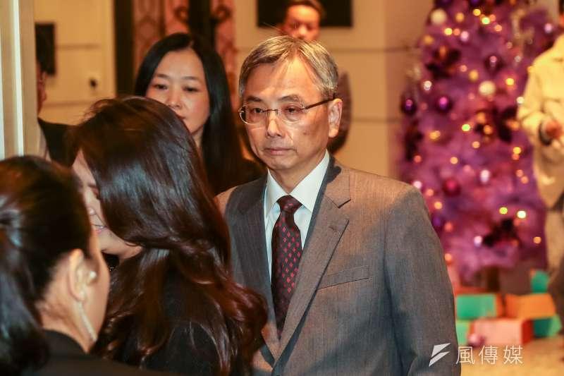 蘇志誠在李登輝任總統時曾任中華民國總統府辦公室主任,被視為李登輝的親信。(資料照,顏麟宇攝)