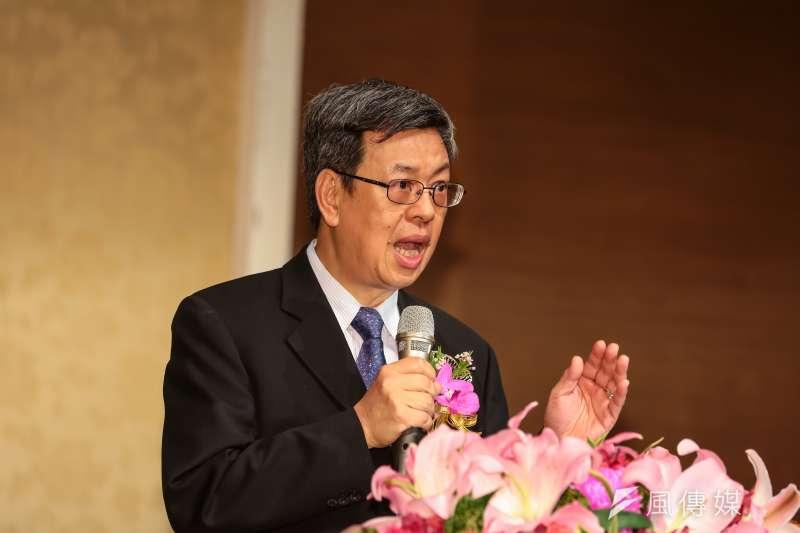 民進黨副總統參選人陳建仁爆提名前曾和立法院長王金平通電話。(資料照/顏麟宇攝)