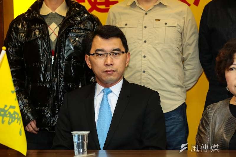 新黨秘書長、總統參選人楊世光。(顏麟宇攝)