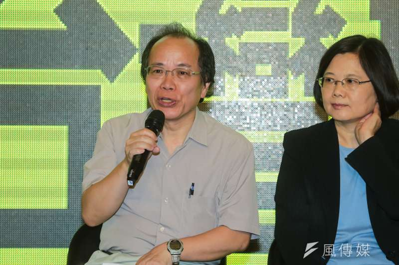準政務委員張景森在臉書發文批評士林王家,引來網友批評。(資料照片,顏麟宇攝)
