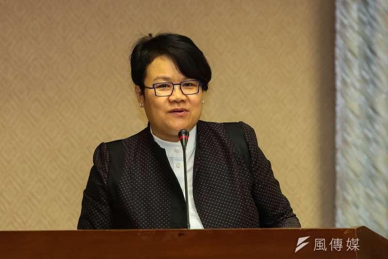 行政院政務委員兼任蒙藏委員會主委蔡玉玲。(顏麟宇攝)