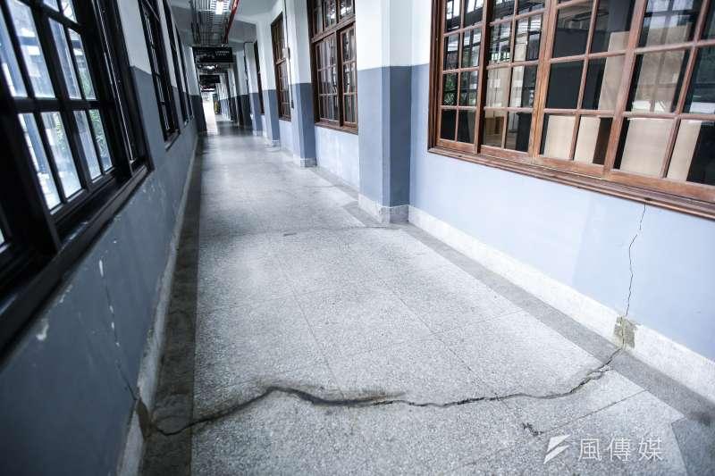 古蹟松山菸廠是台北的驕傲,它的一磚一瓦都隱藏著歷史的故事。(林韶安攝)