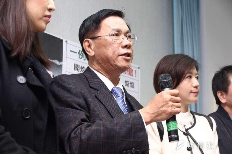 20170316南投縣長林明溱抨擊一例一休。