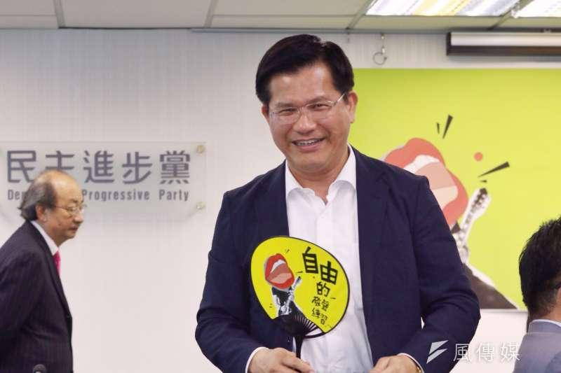 20170712民進黨將於台中舉辦紀念解嚴30週年音樂節暨影像展,台中市長林佳龍(曾原信攝)