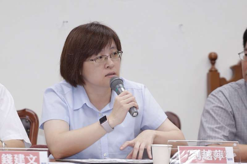 衛福部醫事司簡任技正劉越萍談到醫院防疫第3階段,強調「關院是最不希望發生的事情」。(資料照,曾原信攝)