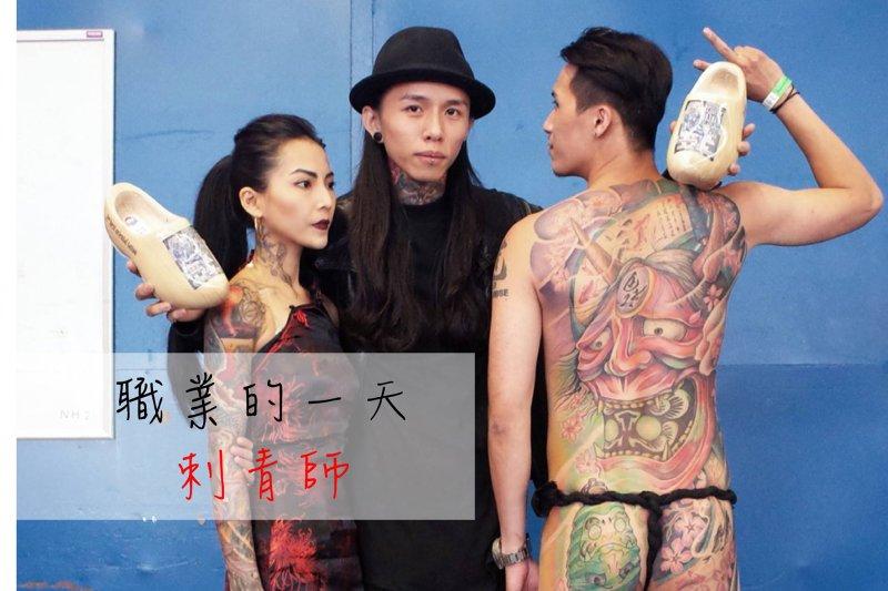 台灣年輕刺青師,勇奪世界冠軍。(圖/吳偉立製)